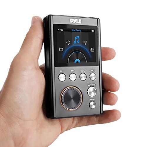 Pyle Hi-Res Mp3 Player - Portable High Resolution Lossless Digital Audio Pdap18Bk.5