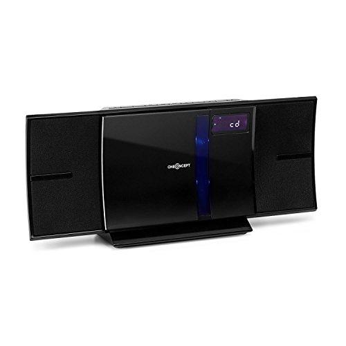 oneConcept V-16-BT • Sistema stereo • Compatto • Mini-sistema • Lettore CD con MP3 • Radio...