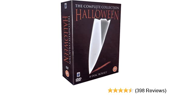 Halloween Dvd Box Set.Halloween Box Set Hmv Zozogame Co