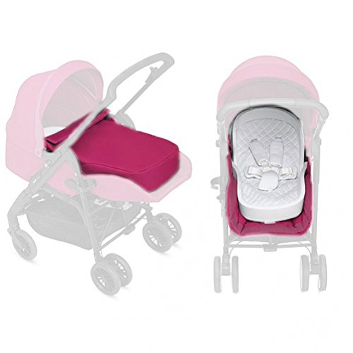 Inglesina Zippy Light-Kit da passeggino per neonati, colore: rosa