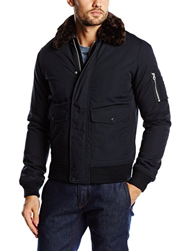 Schott NYC Air Giacca, Blu (Navy), Medium Uomo