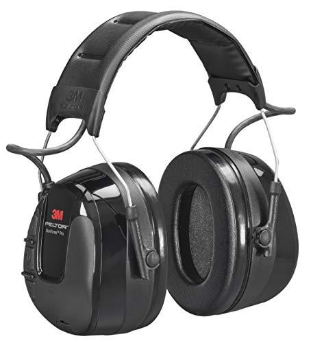 3M Peltor WorkTunes Pro FM Radio Gehörschutz, 32dB - Zuverlässiger Ohrenschutz mit integriertem Radio - Ideal für Forst-, oder Landarbeit & lärmintensive Freizeitaktivitäten