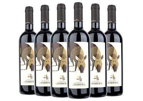 Oltrepò Pavese DOC La Barbera box da 6 bottiglie Mora Bassa 2018 0,75 L