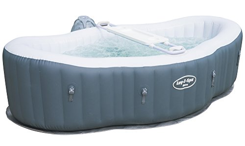 Lay-Z-Spa Hot Tub, Siena Airjet Inflatable Spa, 1-2 Person