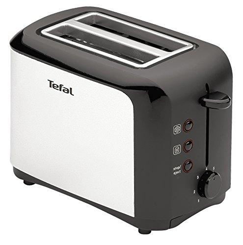 Tefal TT356110 - Tostapane, colore: inox/nero
