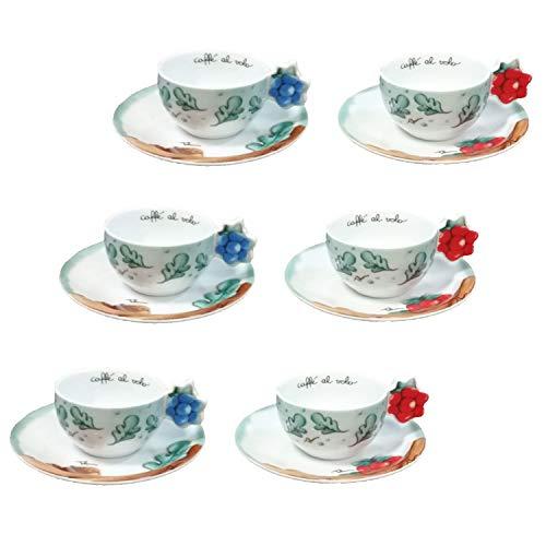 THUN ® - Set 6 tazzine caffè Preludio d'inverno