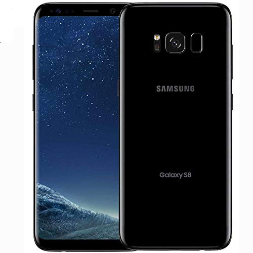 (Imported) Samsung Galaxy S8 Unlocked Smartphone (Black)