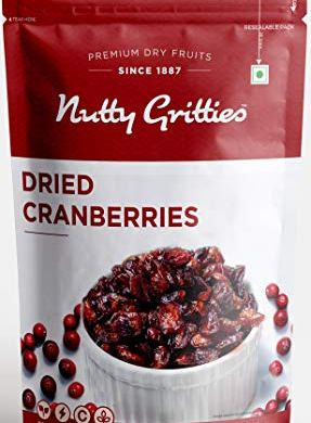 Nutty Gritties US Dried Cranberries, Sliced, 200g 14
