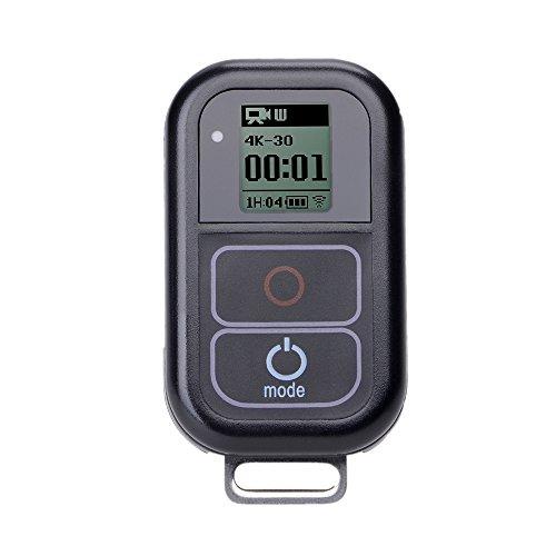 Suptig Impermeabile Telecomando Senza Fili per GoPro Hero 5/5session/4/4S/3+/3Sport Fotocamera Wi-Fi di Ricambio