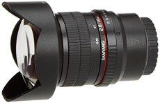 Samyang F1110609101 - Objetivo fotográfico DSLR para Micro Cuatro Tercios (Distancia Focal Fija 14mm, Apertura f/2.8-22 ED AS IF UMC), Negro
