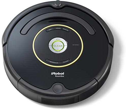 iRobot Roomba 650 - Robot aspirador, alto rendimiento de limpieza, programable, atrapa el pelo de mascotas, negro