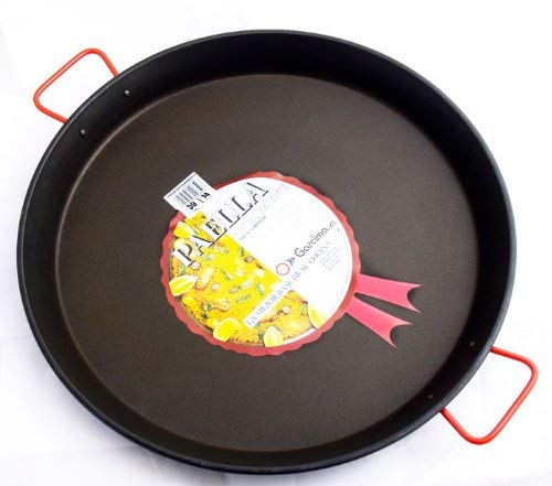 Paellera - Paellapfanne für ca. 14 Port. - 50 cm Durchmesser, antihaftbeschichtet
