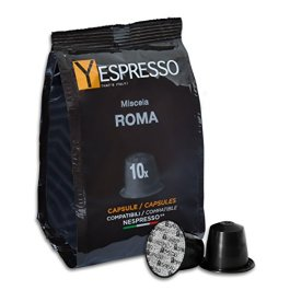240 Capsule compatibili Nespresso ROMA