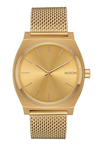 Nixon Orologio Analogico Quarzo da Donna con Cinturino in Acciaio Inox A1187-502-00