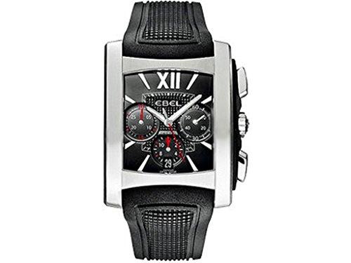 Ebel Brasilia Gents Stainless Steel Mens Chronograph Watch Calendar 9126m52/53br35606 1215783