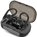 HolyHigh Bluetooth Kopfhörer Sport in Ear Ohrhörer Bluetooth 5.0 IP67 Wasserdicht Sportkopfhörer Joggen/Laufen Wireless Kopfhörer mit Ladebox 26 Stunden Mikrofon für iOS Android Huawei Samsung