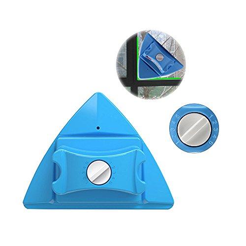 Double latérale magnétique nettoyant pour vitres, réglable magnétique double vitrage Wiper Glider lave-linge équipement de nettoyage brosse outils d'essuie-glace pour High-rise vitrage épaisseur 4-30m