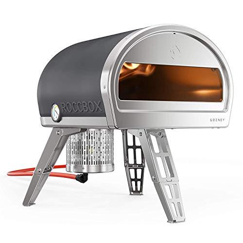 ROCCBOX Forno per Pizza Portatile e Esterno - Forno per Pizza Esterno a Gas o a Legna, Dual-Fuel,...