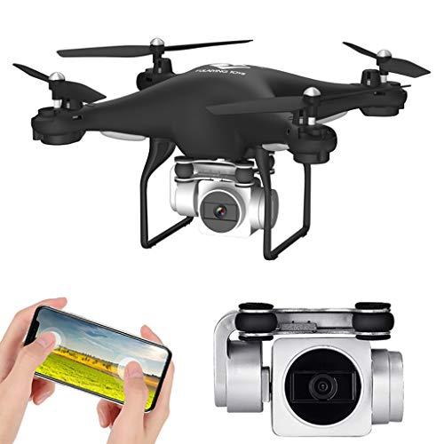 CarJTY Fir Grandangolo Regolabile 1080p 5MP HD Fotocamera WiFi FPV Live Quadcopter Drone 2019 Moda...