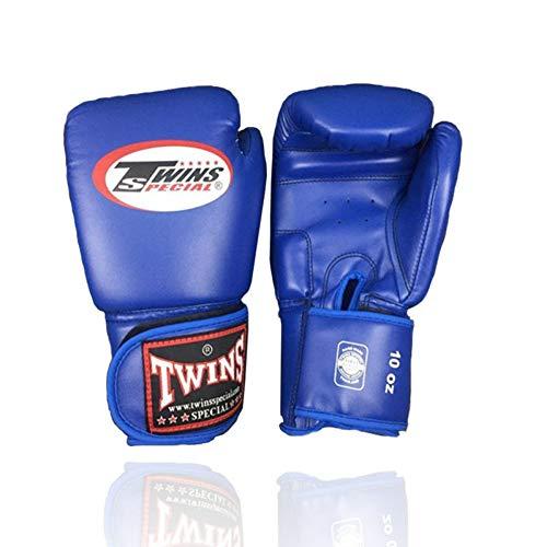 KMCC Guanti Boxe 8-14 Oz all'Ingrosso Muay Thai Pu Guanti da Boxe in Pelle Twin Donna Uomo MMA Gym...