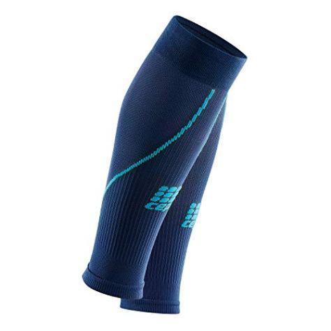 CEP - Calf Sleeve 2.0 für Herren | Beinstulpen für exakte Wadenkompression in dunkelblau/blau | Größe III