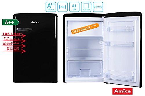 Vintage Industries Kühlschrank Test : Kühlschrank retro schwarz test 2018 produkt vergleich video