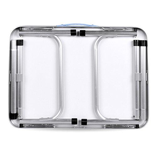 Table pliante sondereu Hauteur réglable portable pliable Outdoor ...