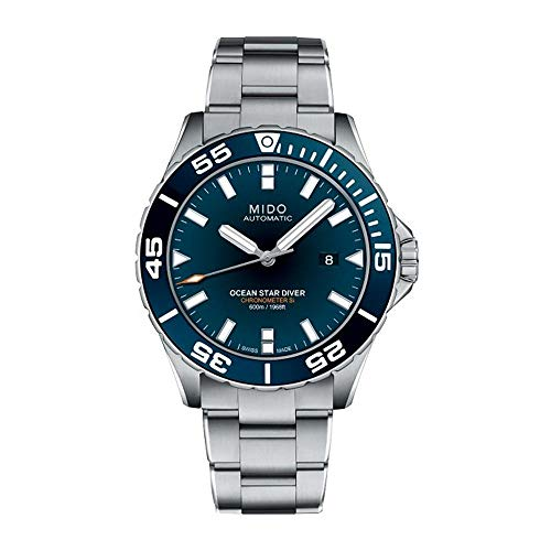 Mido Ocean Star Diver Herren-Armbanduhr 43.5mm Automatik M026.608.11.041.00