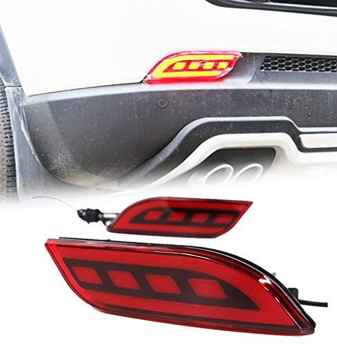 Autohelper Fendinebbia posteriore fanali posteriori paraurti Luce del freno Luce del riflettore per...