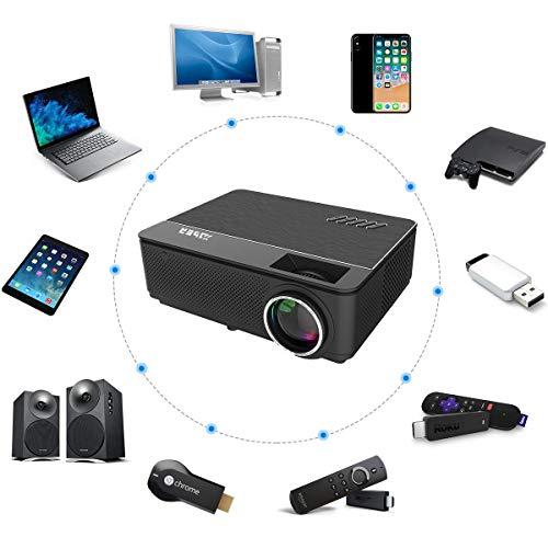 YABER Vidéoprojecteur 4200 Lumens Soutien 1080P Full HD Home Cinéma Projecteur LED avec Deux Haut-parleurs Stéréo (de Qualité HiFi - Haute-f... 11