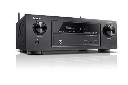Denon X Series AVR-X1400H 7.2 Channel AV Surround Receiver with Heos (Black)
