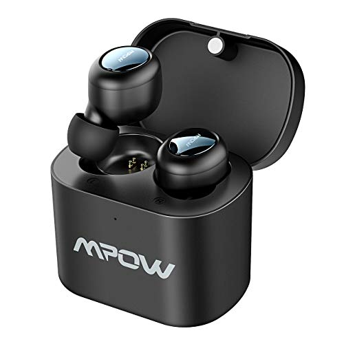 Mpow Auricolari Bluetooth TWS T2, Auricolari Wireless 5.0 True TWS Due Mini Cuffie in-Ear Wireless,...