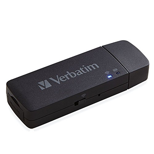 Verbatim 98243 MediaShare Wireless Go , 2.5 Pollici, colore: Nero [SENZA HDD INCLUSO]