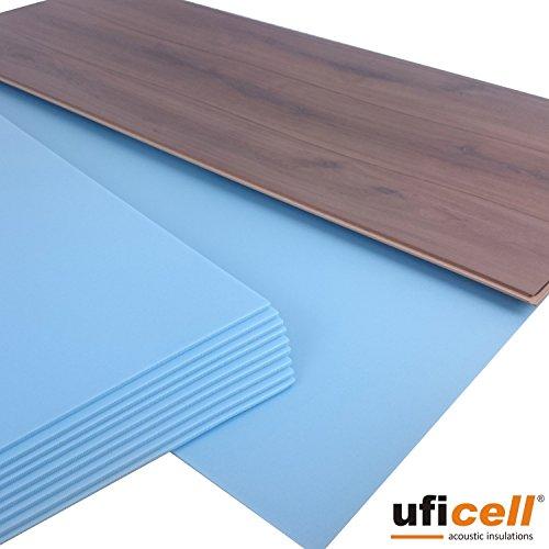 Uficell, Soft-Step, Tappetino fono isolante per laminato, parquet e pavimenti in sughero,spessore:...