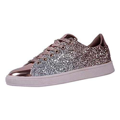 SubfamilySneaker in Lino Tinta Unita da Donna Scarpe Casual Casual da Nightclub Moda Sneakers Hip...