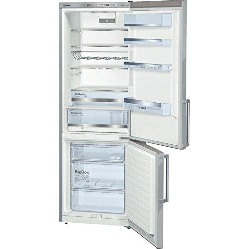 Bosch Serie 6 KGE49AI31 Libera installazione 412L A++ Acciaio inossidabile frigorifero con...