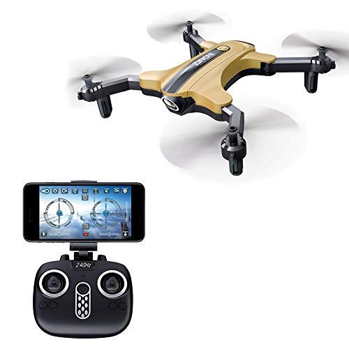 hifuture Droni con videocamera HD Mini Drone quadricottero Pieghevole, Mantenimento dell'altitudine, Design a velocità di Livello Medio Alto e Basso Livello, 360 Gradi, modalità Senza Testa