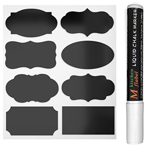 Lavagna Etichette CiaraQ Lavagna artigianato Adesivi con liquido gesso pennarello 8 diversi design...
