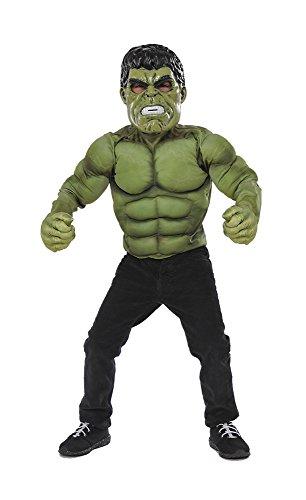 Rubie's Avengers Assemble Set Hulk con Guanti per Bambini, Unica ITG34101