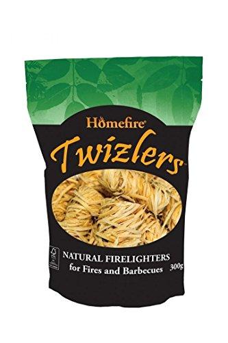 Homefire Twizlers (lana di legno), esca per fuoco, 300g