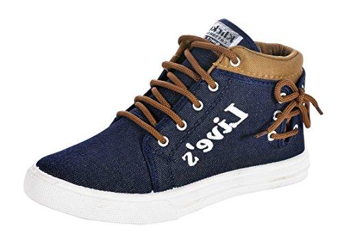 Bruton Men's Blue Casual Shoes -9