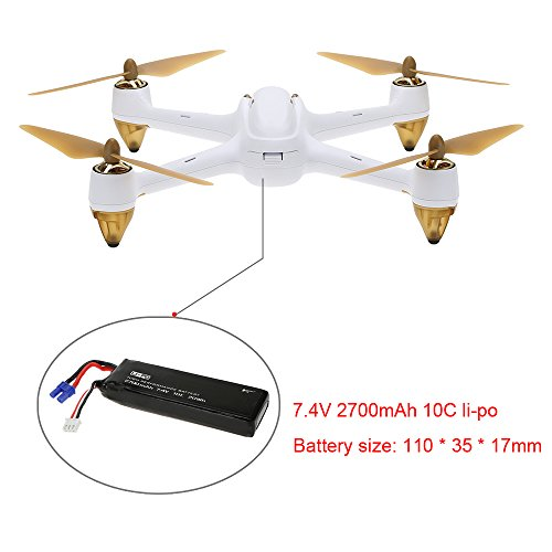 Hubsan H501S X4 Brushless FPV Quadricoptère Drone GPS avec Caméra 1080P HD 5.8Ghz(H501S Blanc) 25