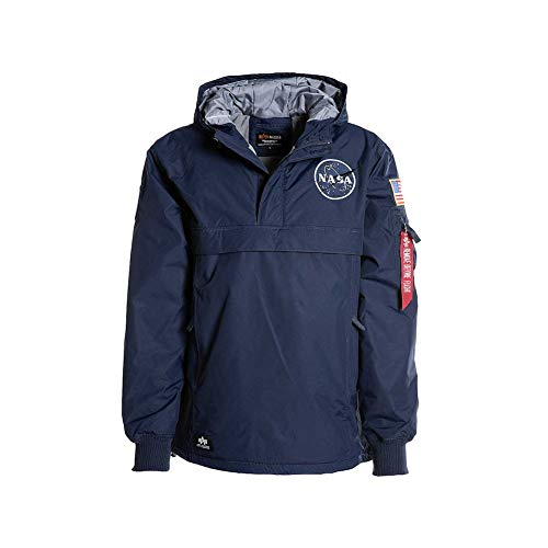 Alpha Industries NASA Anorak Giacca invernale repl. blue