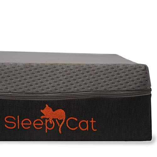 SleepyCat Latex 7 Inch 100% Organic Latex King Size Mattress (78x72x7 Inches, Natural Latex)