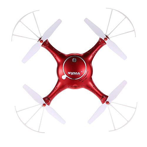 Talreja Enterprises Syma X5UW Camera Drone, Altitude Hold & Flight Plan Route App Control - Red Color