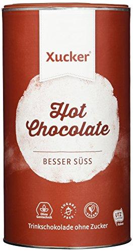 Xucker Trink-Schokolade mit Xylit aus Frankreich - 750 g Packung - Hot Chocolate ohne Zucker - kalorien- und kohlenhydrat-bewusste Ernährung - vegan und glutenfrei