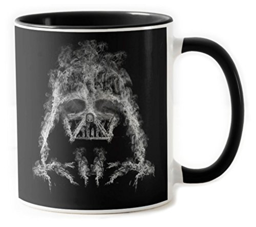 319-Taza Star Wars - Darth Smoke (Donnie) Negro