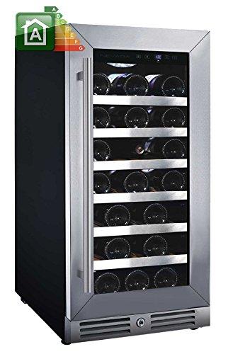 Nevada Cantina vino NW33S-SL con porta classic inox da 37,5cm