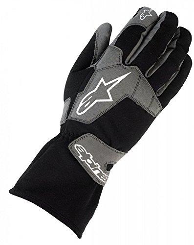 Alpinestars Tech 1-K Black Racing Kart Gloves - Guanti Kart (S)