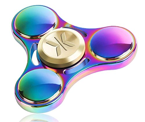 KONKY Finger Hand Spinner Fokus Fidget Spielzeug Stress Reliever mit Fast Bearing und Glatte Oberfläche